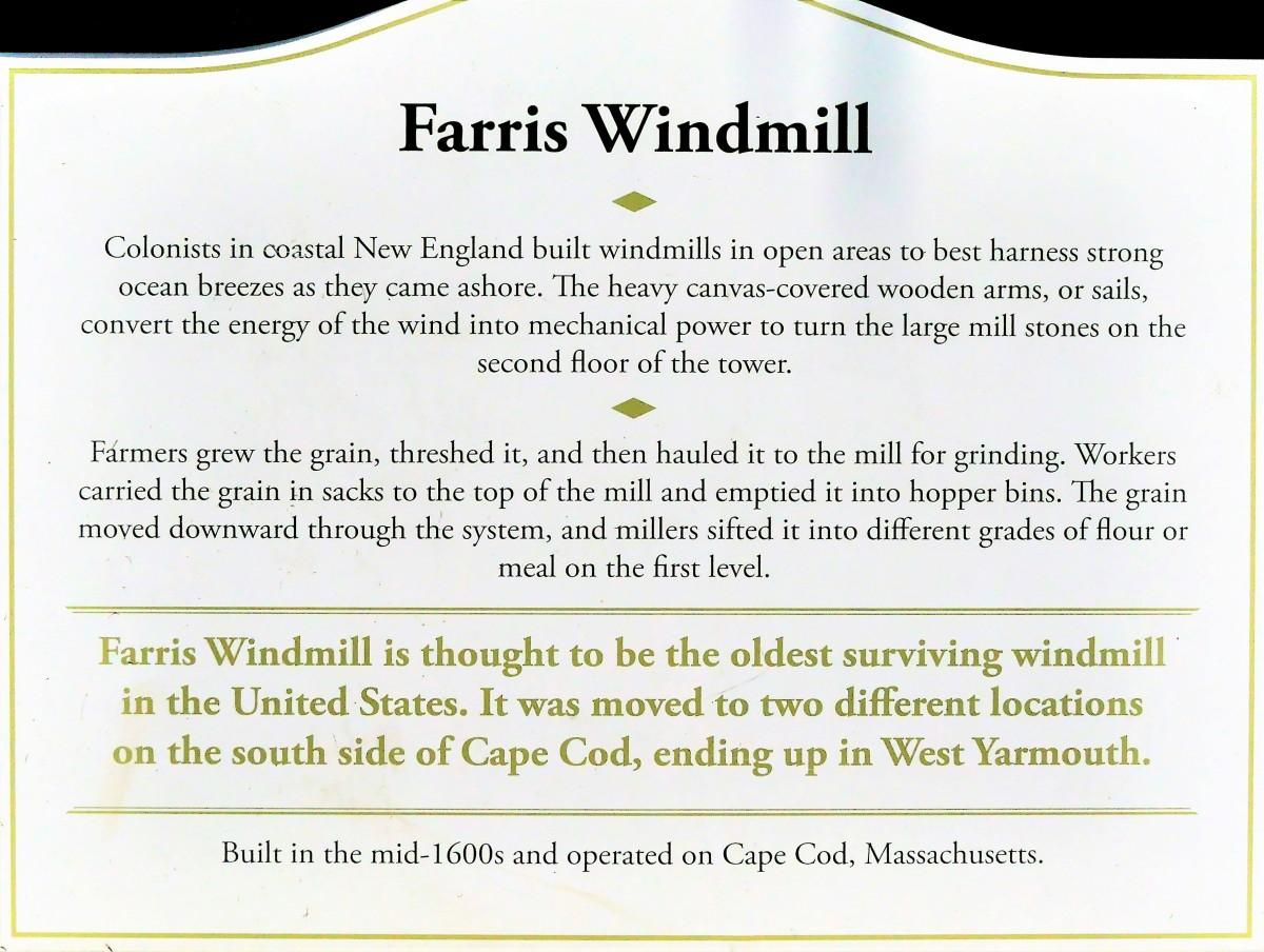 Farris Windmill sign
