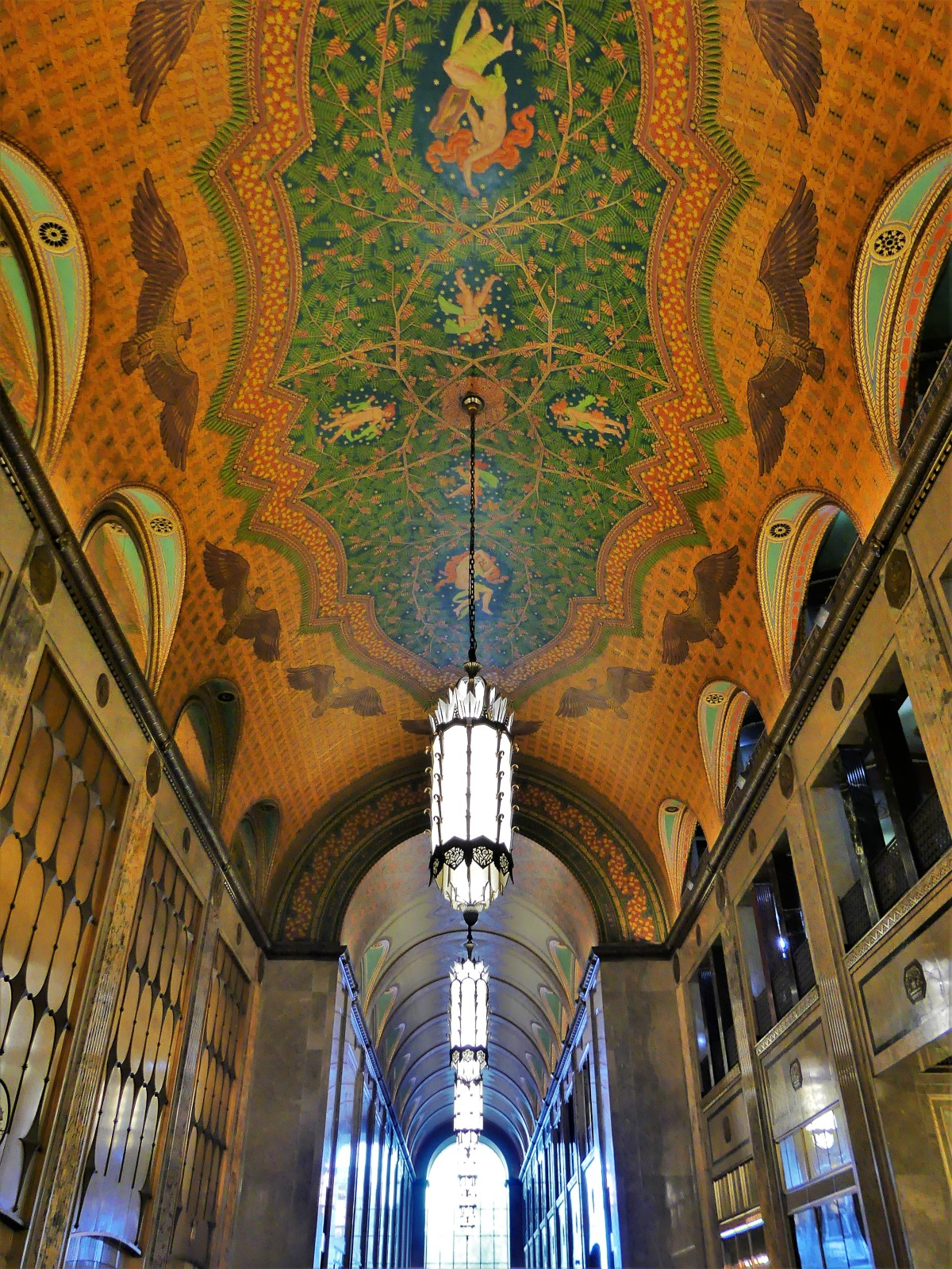 Fisher Building arcade
