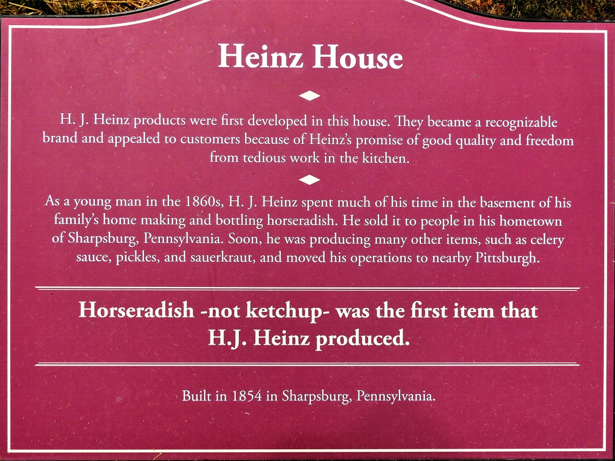 Heinz House sign