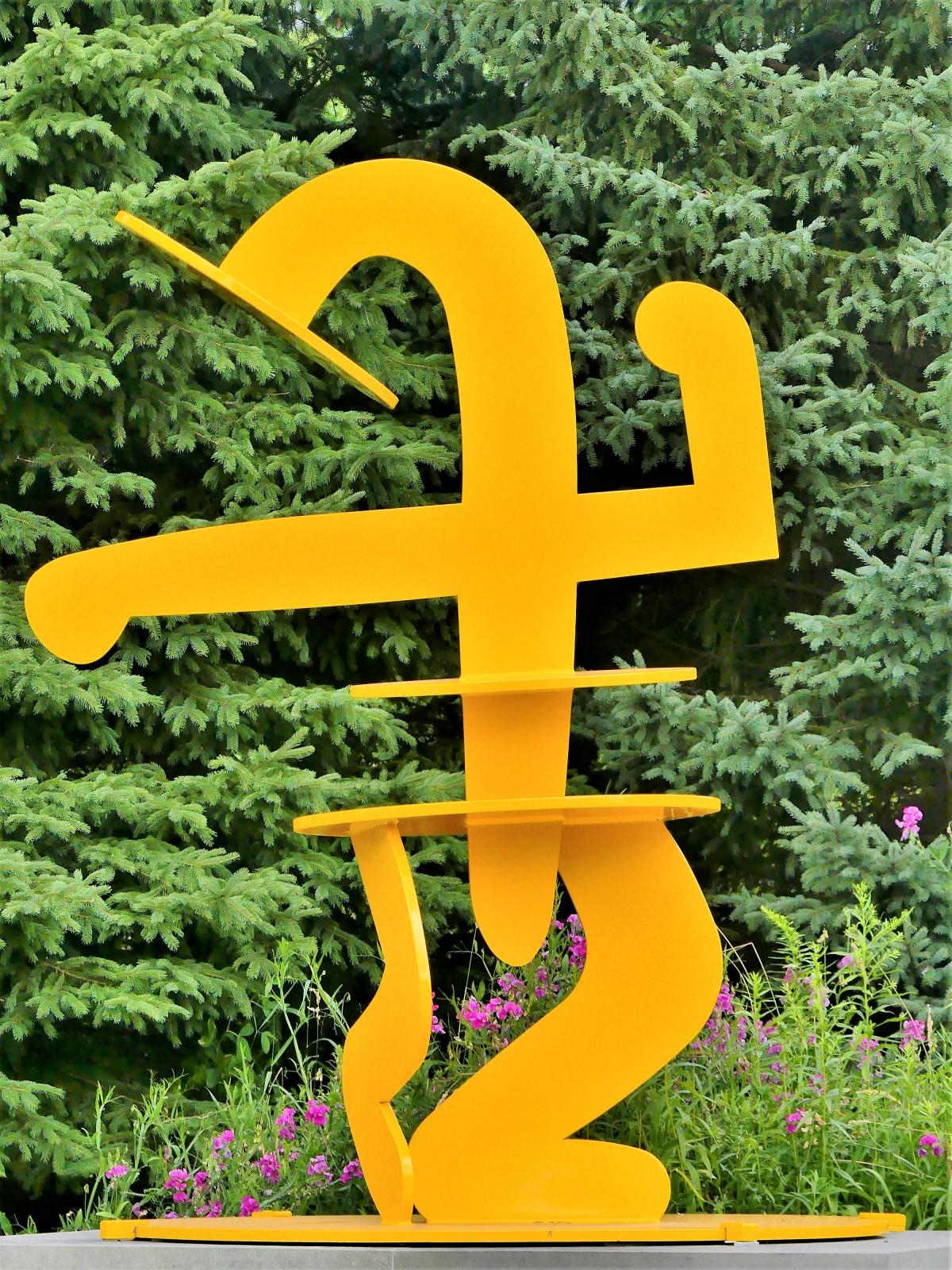 Keith Haring's Julia