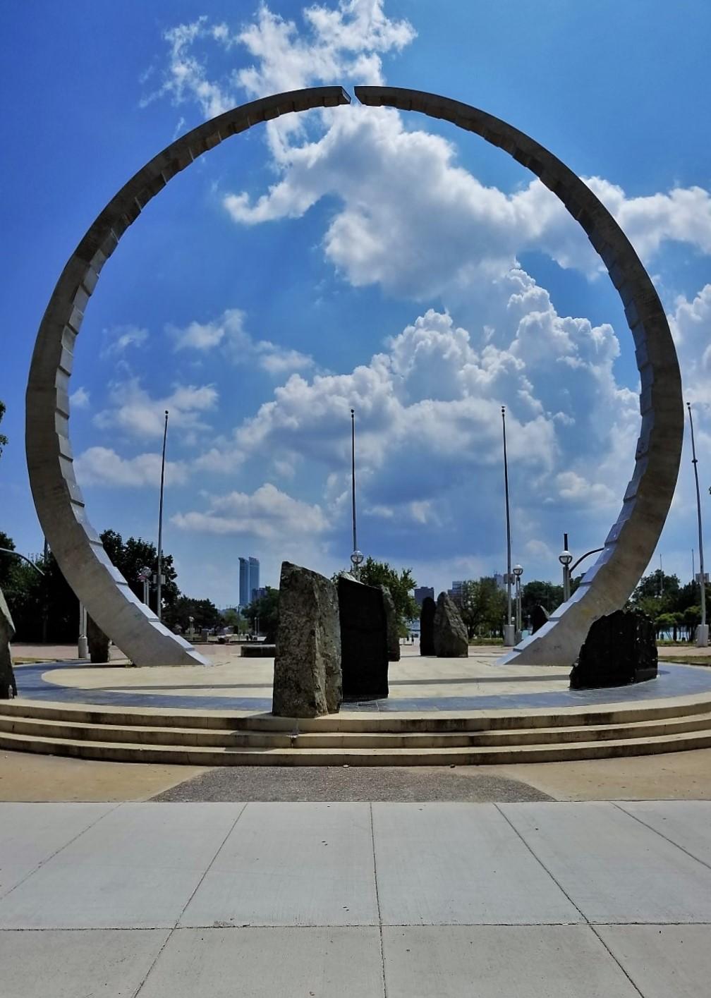 Labor's Legacy, Hart Plaza