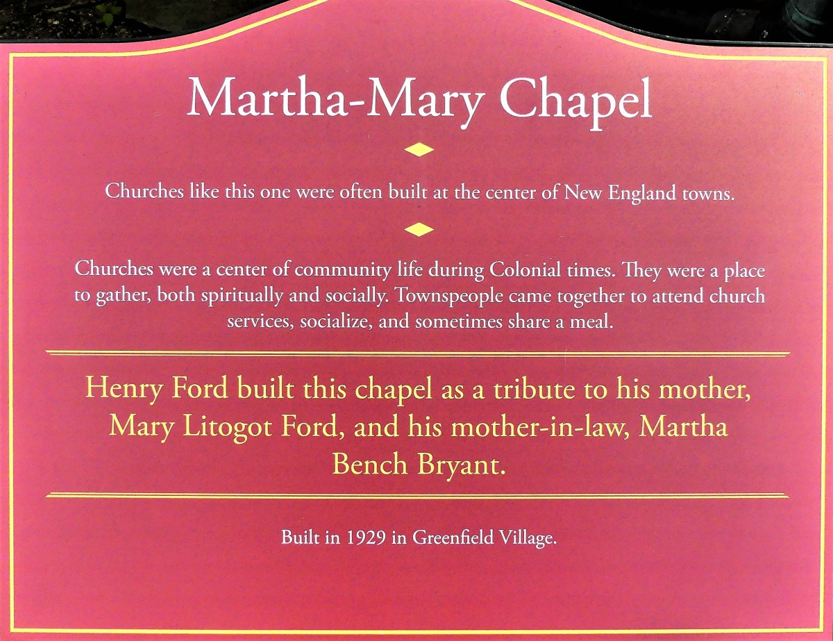 MM Chapel sign