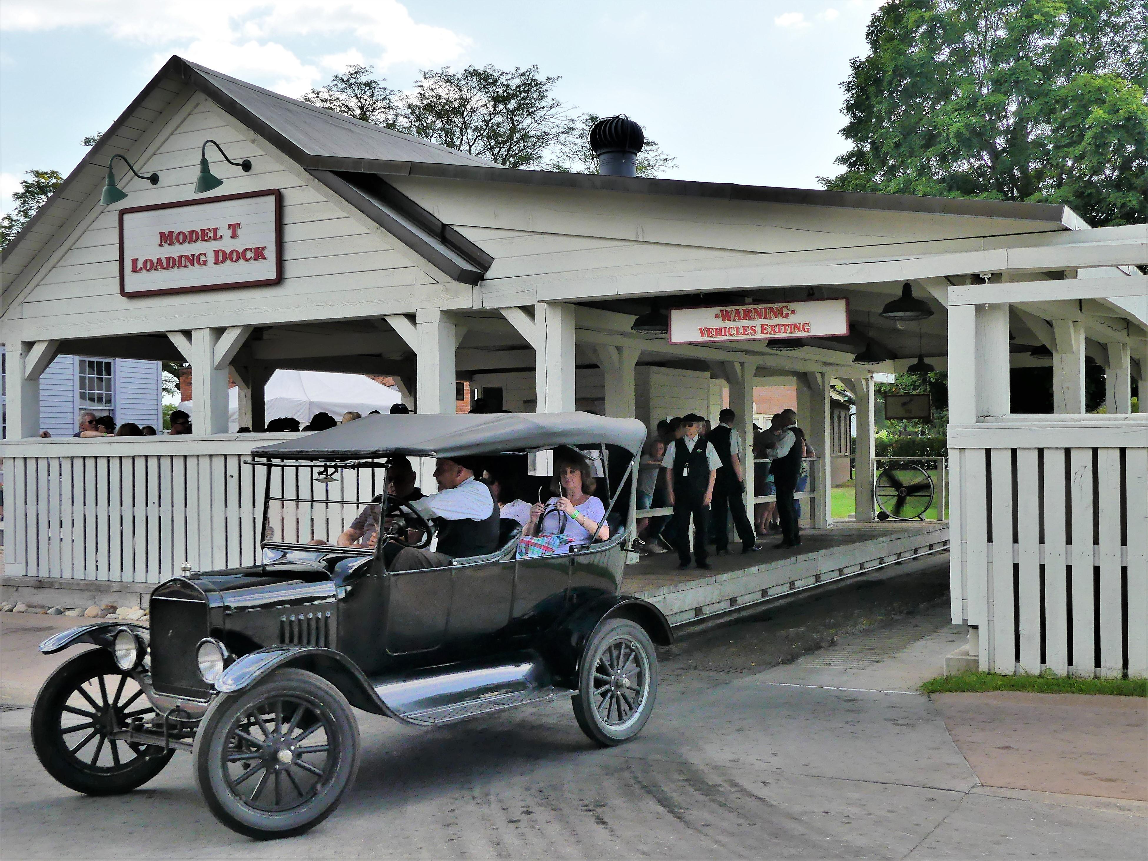 Model T ride