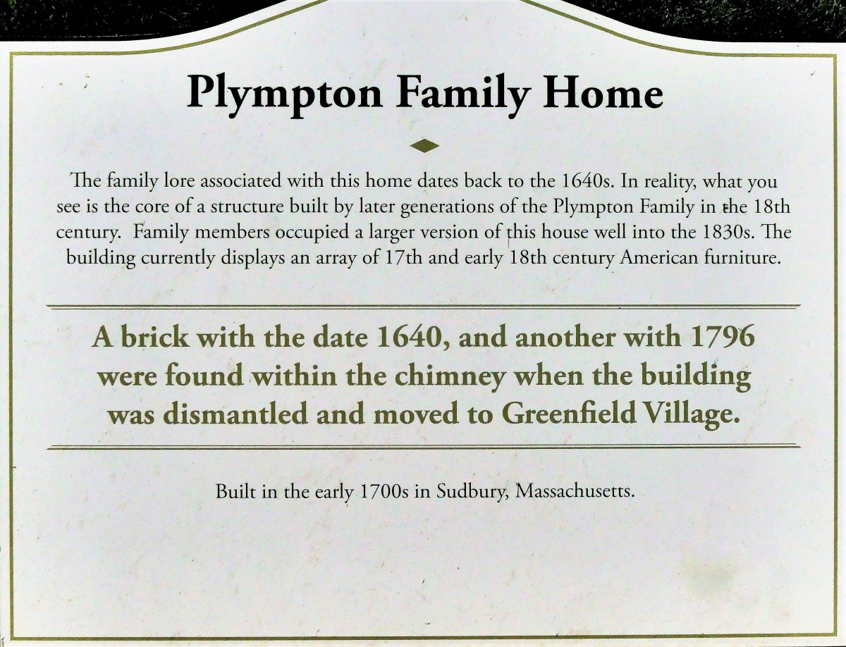 Plympton Family home sign