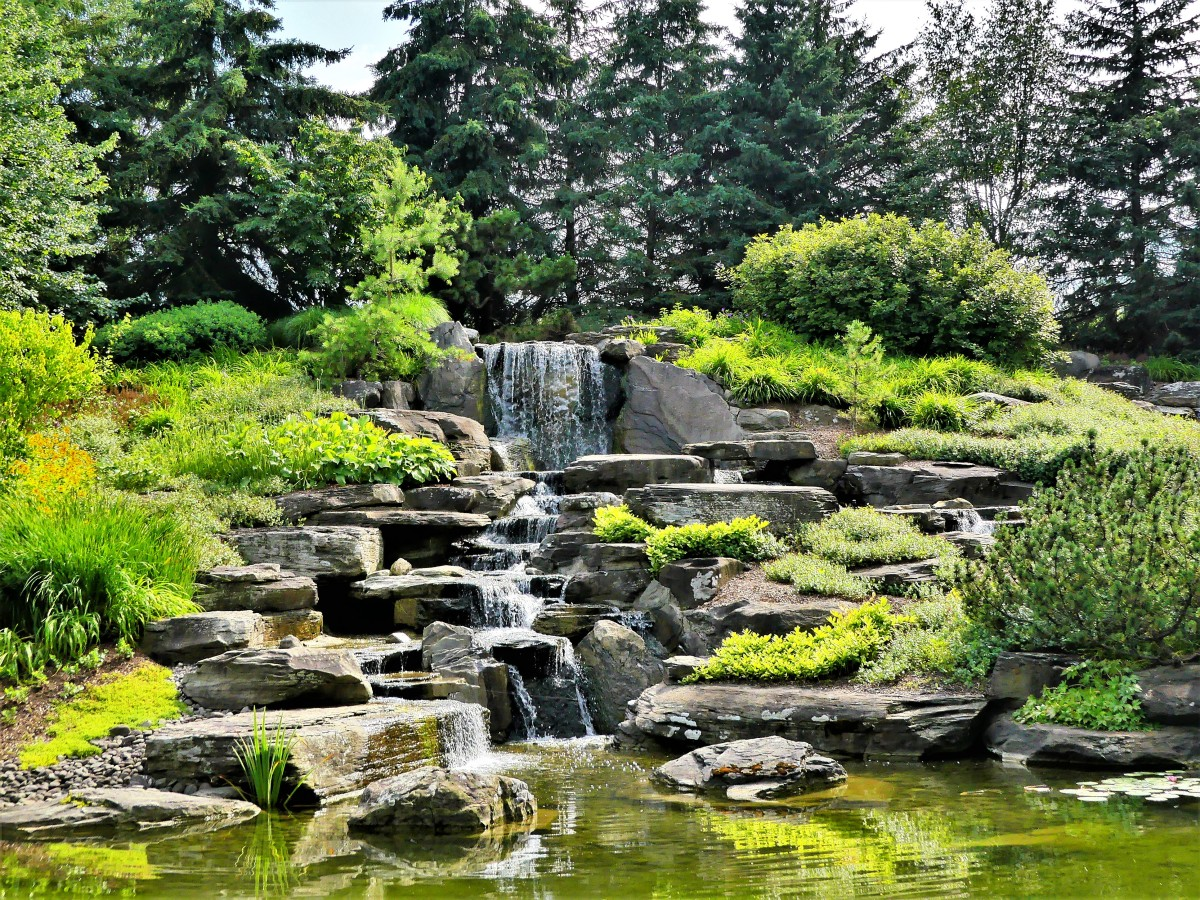 Stone Lake Waterfall