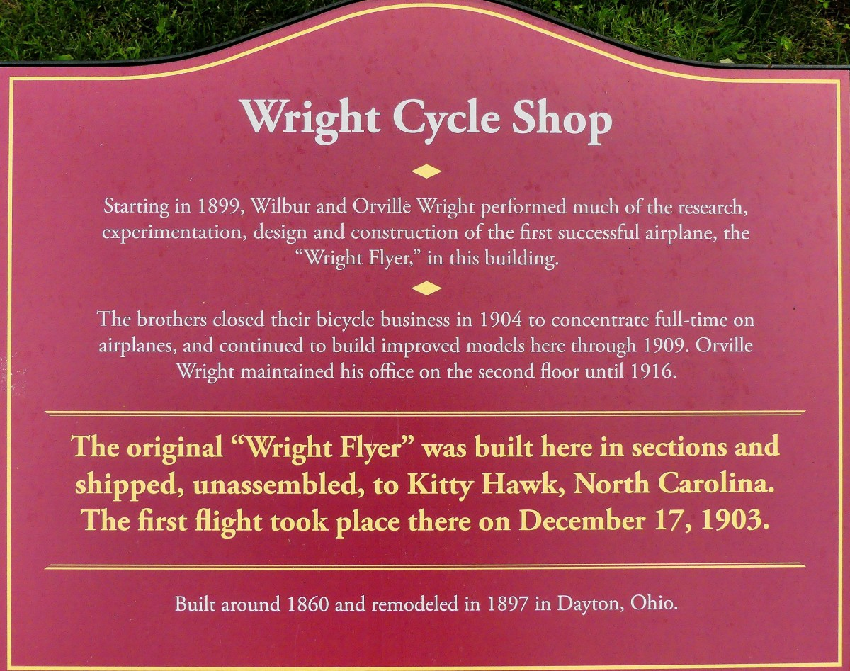 Wight Cycle sign