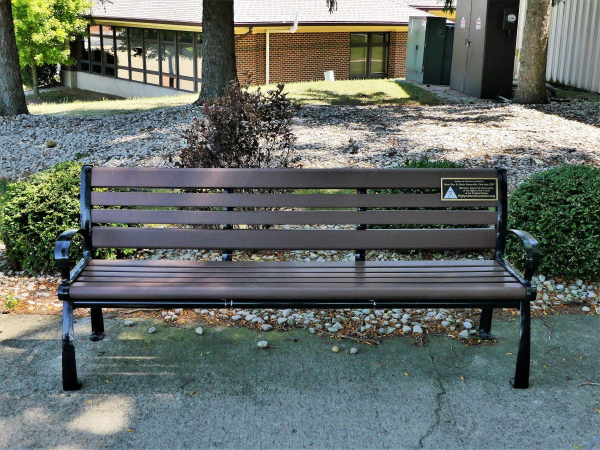 Campbell Hill bench