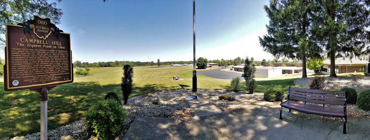 Campbell Hill panorama