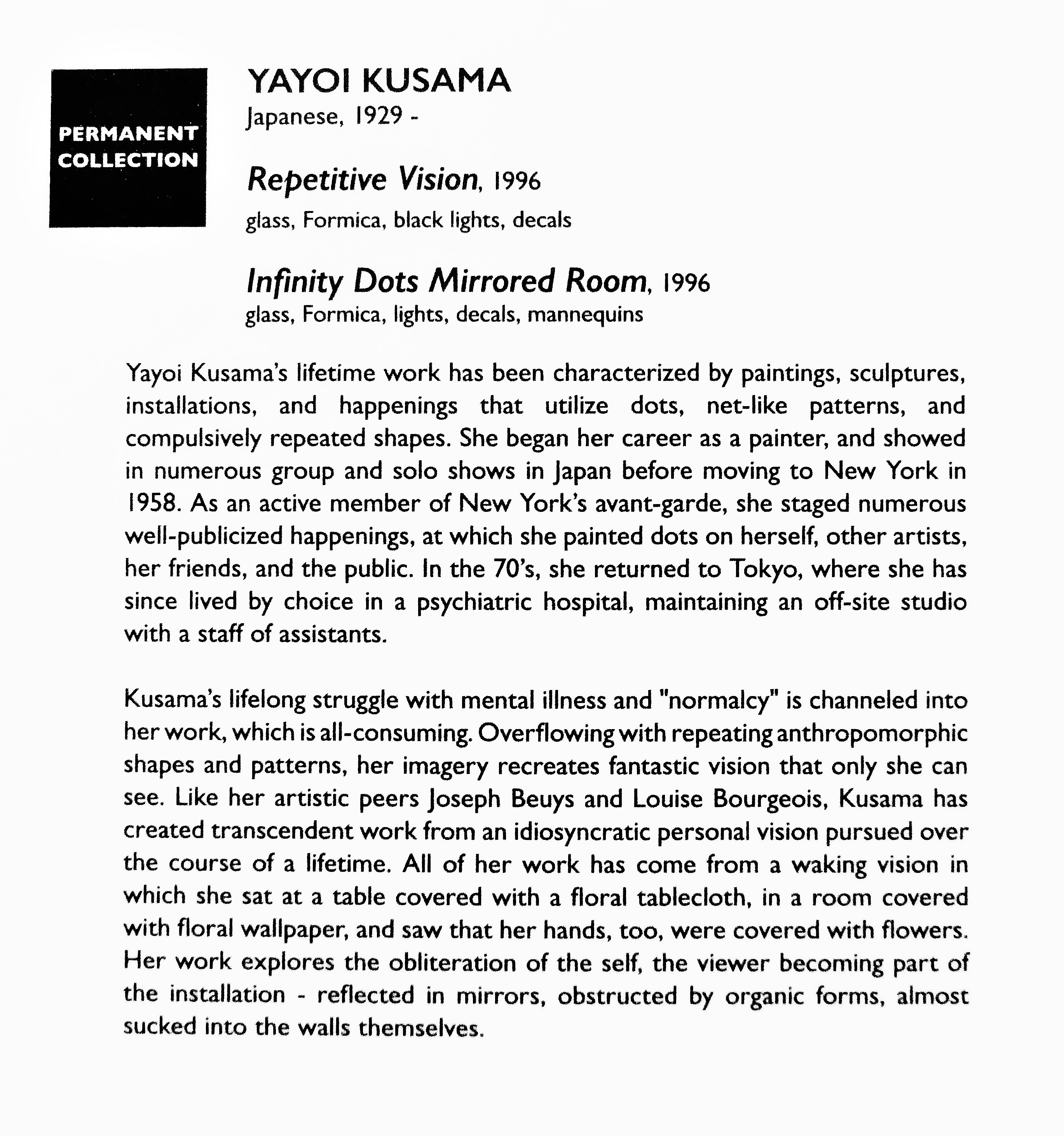Kusama statement