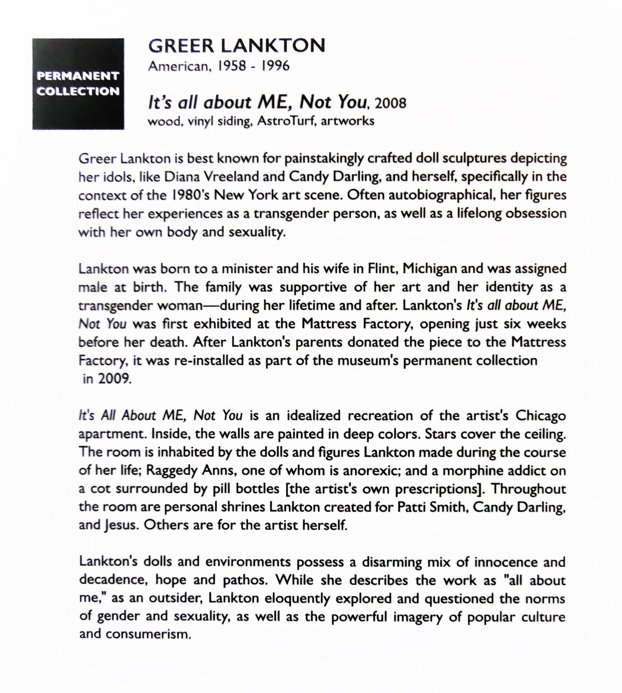 Lankton statement