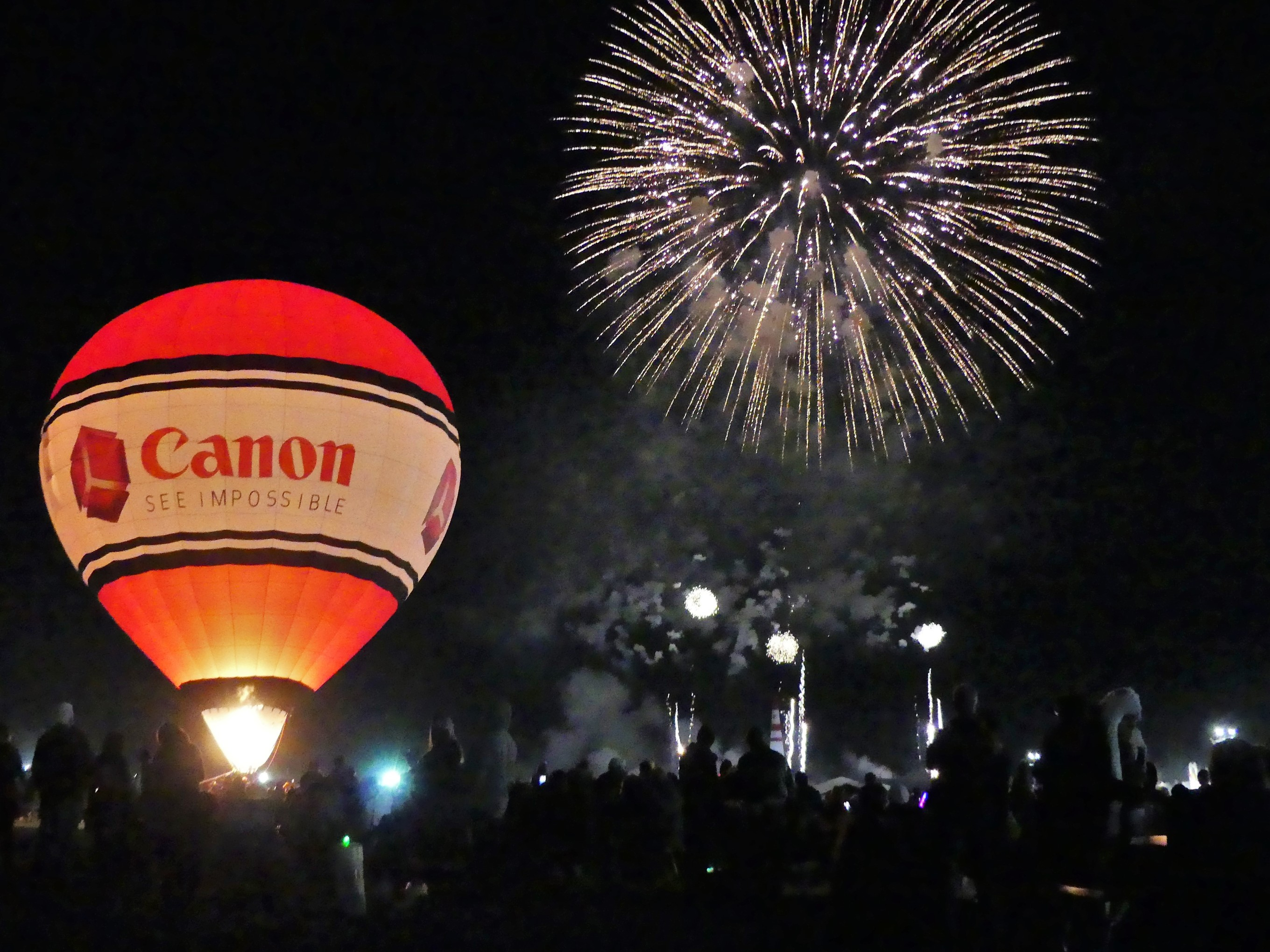 Canon fireworks