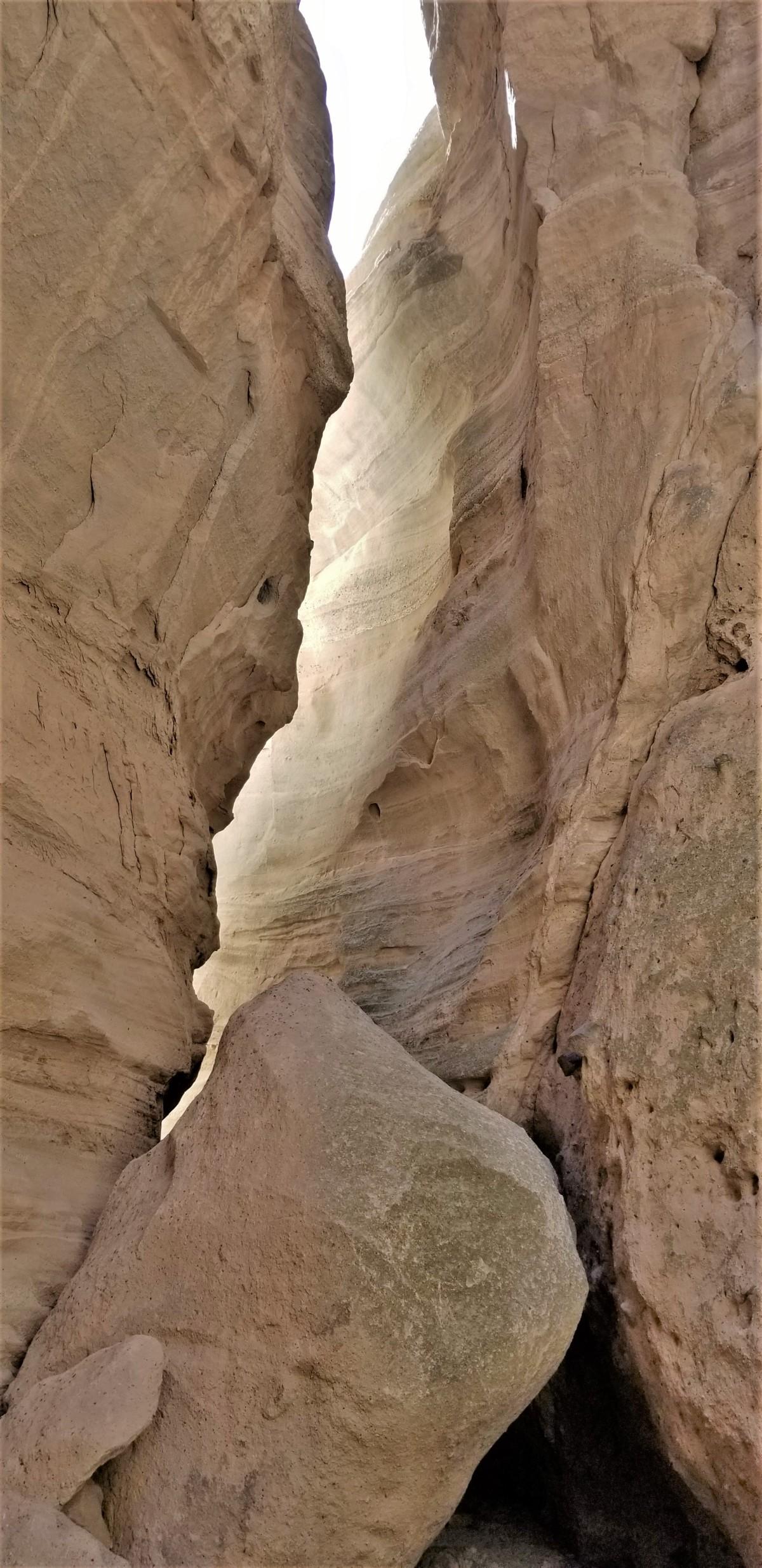 slot and boulder