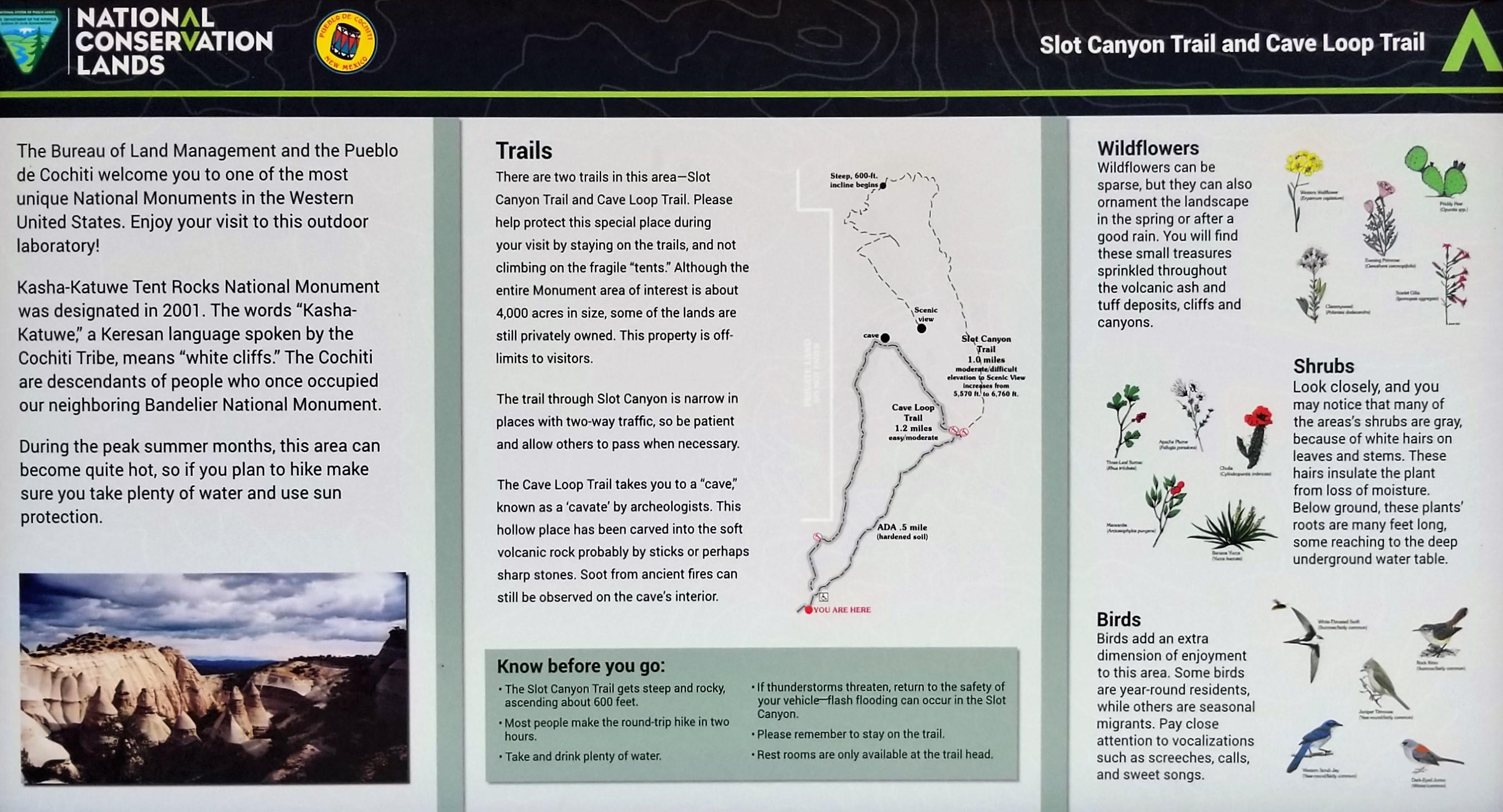 slot canyon info